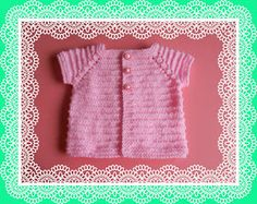 Newborn Knitting Patterns Ravelry: Kinzie Baby Top pattern by marianna mel Baby Knitting Patterns Free Newborn, Baby Cardigan Knitting Pattern Free, Baby Romper Pattern, Baby Sweater Patterns, Baby Patterns, Knit Patterns, Top Pattern, Free Pattern, Baby Sweaters