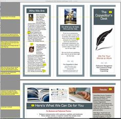 Cool Marketing Brochure Templates Set  Check More At Http