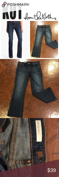 """Kut From the Kloth Baby Bootcut Kut from the Kloth Baby Bootcut, like New Condition!!! No trades!! 29"""" inseam Kut from the Kloth Jeans Boot Cut"""