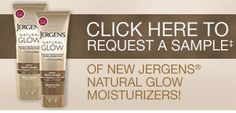 Free Sample of Jergens Natural Glow Moisturizer