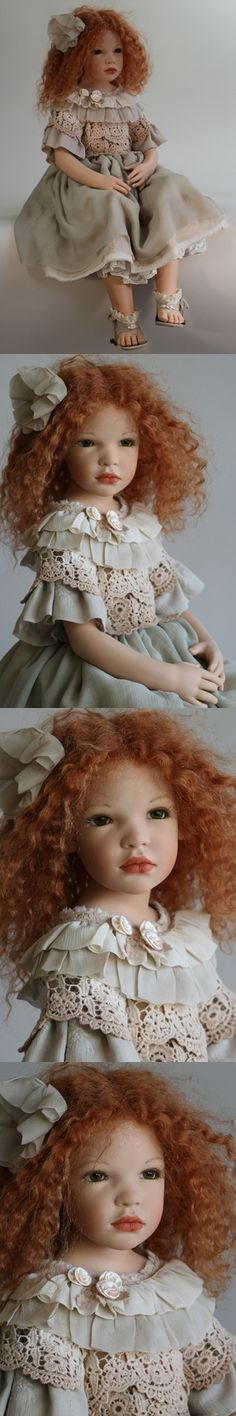 "Zawieruszynski - ""Olivia"" - 2012  31 inches tall Vinyl Doll - LE"