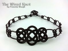 """Celtic Josephine Choker 18"""" by TheWiredKnot on Etsy, $40.00"""