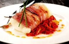 Merluzzo al bacon