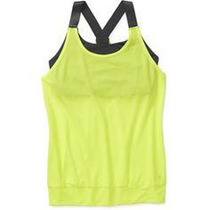 $10 Danskin Now Women's 2fer Tank - Find 65+ Top Online Activewear Stores via http://AmericasMall.com/categories/activewear.html