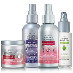 Advance Techniques Hair Care Collection Complete your look with treatments, sprays, and serums in this hair care collection.  AvonRep shirlean walker