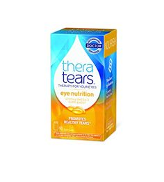 Thera Tears Nutrition, 1200mg Omega-3 Supplement Capsules, 90-Count >>> Want additional info? Click on the image.