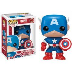 ✔ Captain America - Marvel Universe - Funko Pop! Marvel N°06
