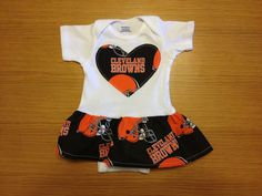Baby Creeper Loyal Indians Browns Cavs Cavaliers Ball 1-Pc Jumper