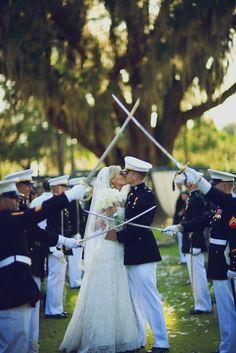 Southern Marine wedding in Florida