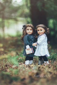 Rebecca and Marie Grace American Girl dolls beautiful photography Explore KaraleeLS' photos on Flickr