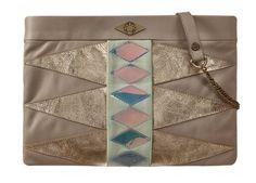 Patchwork pochette bag - Navajo Bubble Gum by Mohekann - www.legoutdescouleurs.be