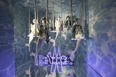 The World's Fashion Windows, Online in Real-Time · Moncler, Milan,  February 2013