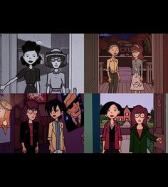 I just love Jane, she is such a good friend to Daria