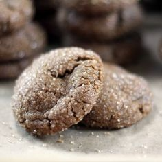 Molasses Spice Cookies: warm winter spices with a peppery kick