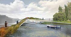 Proposta Ganhadora para o Singel Park na Holanda / LOLA + Studio KARST