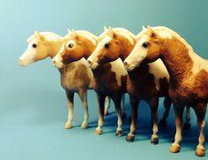 "Vintage variations of ""Misty of Chincoteague"". Breyer model horses."