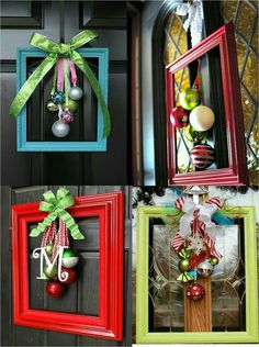 diy Christmas deko - 15 Adorable Unique DIY Christmas Decorations On A Budget Diy Christmas Gifts, Christmas Projects, Simple Christmas, Holiday Crafts, Christmas Ornaments, Christmas Ideas, Christmas Christmas, Outdoor Christmas, Christmas Island