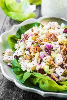 awesome Chicken Salad with Poppy Seed Mayonnaise...