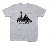 Koszulka z nadrukiem MORDOR zamek Władca Pierścieni
