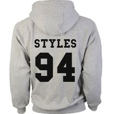 One Direction Year Grey Hoodie Sweatshirt Unisex by TeesbyJP, £19.99 XL, will take Horan 93, Styles 94, Malik 93, Payne 93, or Tomlinson 91