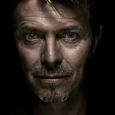 Aging beautifully. David Bowie.