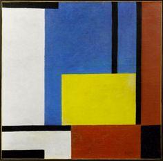 František Kupka - Variations et contrastes, 1932. Oil on canvas