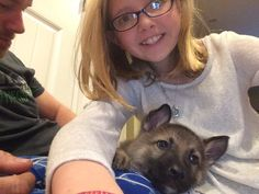 My bff with her cute puppy