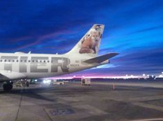 Dia ..Frontier Airlines