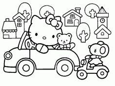 Desenhos para Colorir: Hello Kitty