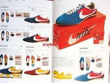 Vintage 70s-80s Nike Sneaker Trainer Clothing Book 322p Cortez Sting track suits
