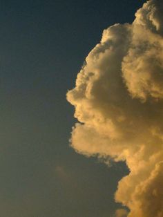 the awesome shapes that clouds make. what do you see?