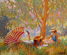 Claude Fossoux, Under the eucalyptus,