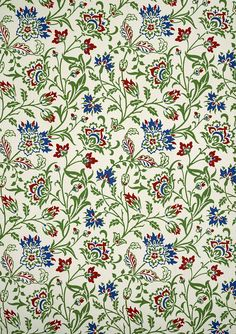 Brentwood wallpaper, by William Morris. England, late 19th century (v&a)