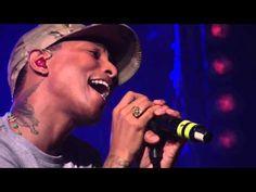 Daft Punk - Get Lucky ft. Pharrell Williams (First Live Performance HD @...
