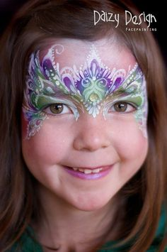 (96) Daizy Design Face Painting