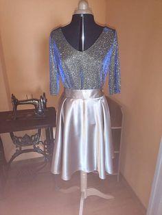 ivettetextil / Saténová sukňa zlatá Barbie, Formal Dresses, Fashion, Dresses For Formal, Moda, Formal Gowns, Fashion Styles, Formal Dress, Gowns
