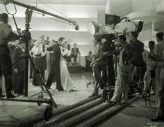 """Photograph of Joan Crawford & Robert Montgomery filming """"No More Ladies"""" (MGM Robert Montgomery, Classic Movie Stars, Joan Crawford, 30th Anniversary, Art Director, On Set, Cinematography, 1930s, Auction"""