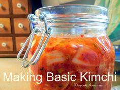 Making Basic Kimchi, vegan, food preservation, lacto-fermentation, healthy gut, good bacteria, kimchi, healing the gut, anticancer, probioti...