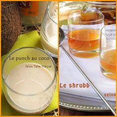 Punch coco ou Shrubb...