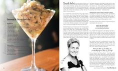 Issue #9 of Super Raw Life magazine is now complete!  It turned out beautifully delicious and inspiring! Jam packed with decadent recipes for both your mind and your body!  Download your own digital copy now! http://superrawlife.com/digitalmagazines/super-raw-life-issue-9/ Coconut and Citrus Ceviche Recipe