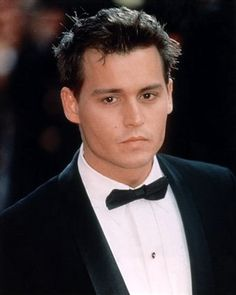 Johnny Depp is always sexy, no matter what.