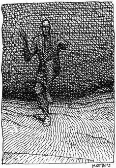 The Art of Moebius TPB (Part - Read The Art of Moebius TPB (Part comic online in high quality Jean Giraud, Comic Book Artists, Comic Artist, Comic Books, Science Fiction, Nogent Sur Marne, Moebius Art, Art Folder, Book Of Kells
