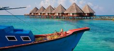 Groetjes uit de Malediven