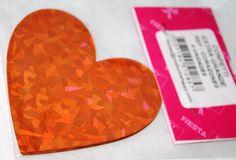 Confetty Extra Grande ( 12,5 cms. de diámetro Ref. Corazones Bolsa x 4 )