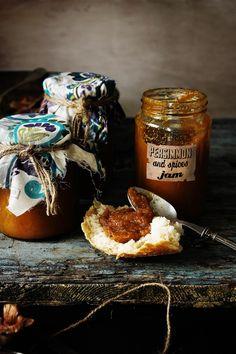 Pratos e Travessas: Doce de dióspiro e especiarias # Persimmon and spices jam | Food, photography and stories