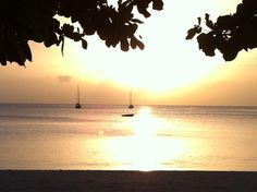 Just another sunset at Morne Rouge Grenada, The Locals, Celestial, Sunset, Beach, Outdoor, Red, Outdoors, Granada