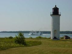 With the Beaver Island Boat Company, Pure Michigan Mackinac Island, Island Tour, Tour Guide, Outdoor Camping, Lighthouse, Tours, Vacation, Michigan, Lighthouses
