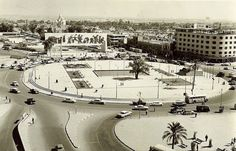 ساحة التحرير عام 1962 Baghdad Iraq, The Good Place, The Past, America, Landscape, History, Pictures, Travel, Image