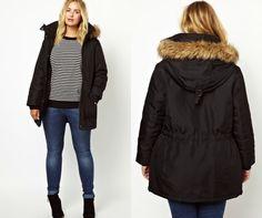 Parka Junarose 10 manteaux tendance à soffrir en taille 50 et plus