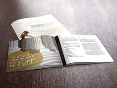 Latraverse Huissiers – Brochure corporative